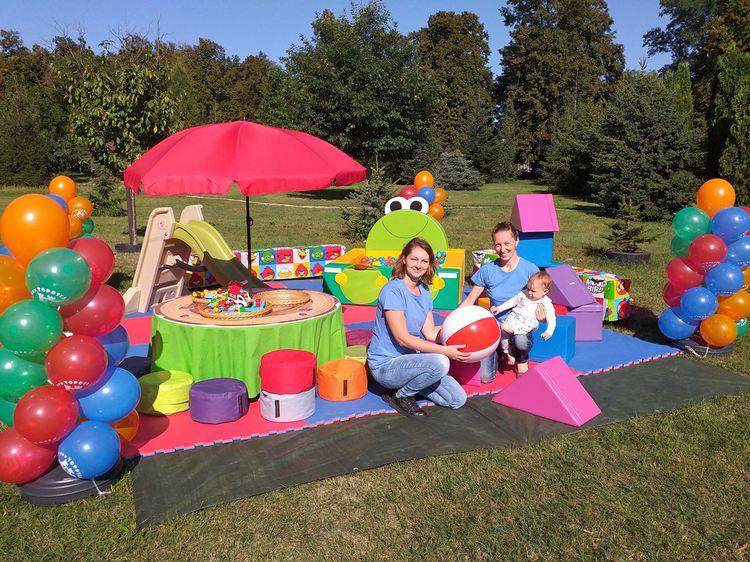 Mobilný detský kútik, animátori na svadby a rodinné oslavy, firemné párty